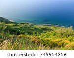 beautiful view of the adriatic... | Shutterstock . vector #749954356