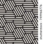 vector seamless pattern. modern ... | Shutterstock .eps vector #749966776