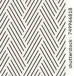 vector seamless pattern. modern ... | Shutterstock .eps vector #749966818