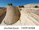walls of valletta  malta  | Shutterstock . vector #749976988