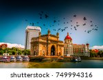 gateway of india at morning, mumbai, india