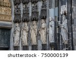 cologne cathedral   Shutterstock . vector #750000139