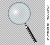magnifying glass | Shutterstock .eps vector #750038434