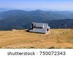 carpathian mountains landscape  ... | Shutterstock . vector #750072343