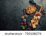 energy bars and balls   snack... | Shutterstock . vector #750108274