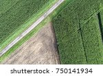 abstract aerial photograph of... | Shutterstock . vector #750141934