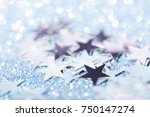Blue Festive Background With...