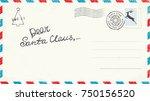 dear santa claus letter