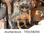 Rusty Old Engine