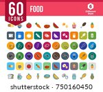 food and drink icons | Shutterstock .eps vector #750160450