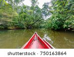 beautiful pure nature river... | Shutterstock . vector #750163864