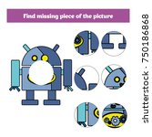 matching children educational... | Shutterstock .eps vector #750186868