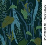 beautiful seamless texture with ...   Shutterstock .eps vector #750193609