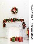 new year's d cor | Shutterstock . vector #750193948