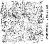 distress  dirt texture . simply ... | Shutterstock .eps vector #750198136