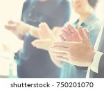 blurred image  group of... | Shutterstock . vector #750201070