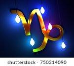 astrological sign. celebration... | Shutterstock . vector #750214090