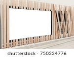 blank outdoor bus and shop... | Shutterstock . vector #750224776