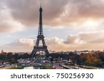 paris  france   nov 27  2013 ... | Shutterstock . vector #750256930