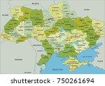 highly detailed editable... | Shutterstock .eps vector #750261694