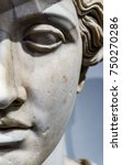 roman copy of greek statue | Shutterstock . vector #750270286