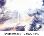 abstract blue and white color... | Shutterstock . vector #750277543
