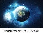 3d rendering world globe from...   Shutterstock . vector #750279550
