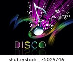 abstract musical concept... | Shutterstock .eps vector #75029746