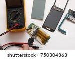 phone repair | Shutterstock . vector #750304363