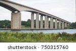 road bridge over the river...