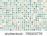 beautiful geometric pattern... | Shutterstock .eps vector #750323770