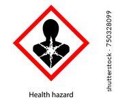 vector illustration bio hazard... | Shutterstock .eps vector #750328099