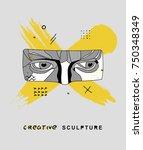 creative modern classical... | Shutterstock .eps vector #750348349
