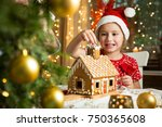 father and adorable daughter in ...   Shutterstock . vector #750365608