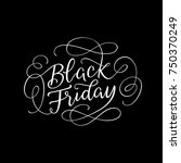 black friday sophisticated line ... | Shutterstock .eps vector #750370249