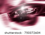 abstract futuristic background...   Shutterstock . vector #750372604