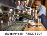 making a espresso and cappuccino | Shutterstock . vector #750375109
