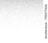 silver confetti on a white... | Shutterstock .eps vector #750377026