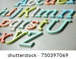 Wooden Colorful Letters  Woode...