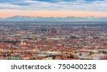 munich historical center... | Shutterstock . vector #750400228