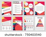 abstract vector layout...   Shutterstock .eps vector #750403540