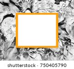 abstract flower picture ...   Shutterstock . vector #750405790