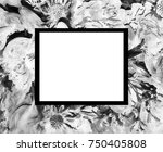 abstract flower picture ...   Shutterstock . vector #750405808