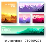 sports rest day vector brochure ... | Shutterstock .eps vector #750409276