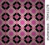 Vector Checkered Fabric Textur...