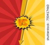 vs. versus. fight backgrounds... | Shutterstock .eps vector #750417460