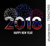 happy new year and merry...   Shutterstock .eps vector #750427450