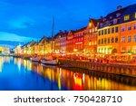 copenhagen  denmark  august 20  ... | Shutterstock . vector #750428710