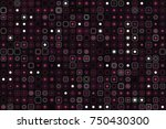 beautiful geometric pattern... | Shutterstock .eps vector #750430300