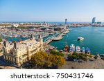 barcelona  spain   october 13 ... | Shutterstock . vector #750431746